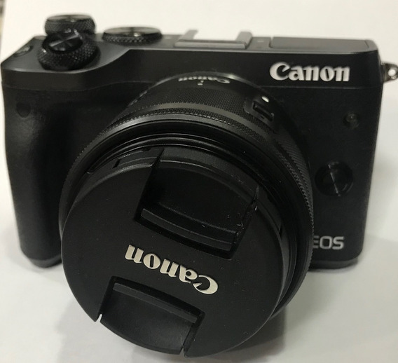 Canon Eos M6 + Ef 15-45mm