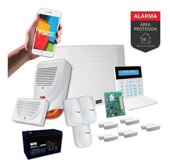 Alarma Casa Comercio Wifi Casa Cableado Sensor Magn