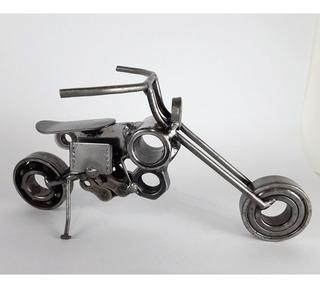 Moto Decorativa - Moto Metálica Adorno