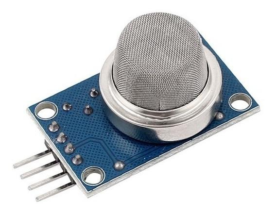 Sensor De Gás Mq-5 P/ Arduino - Glp (gás De Cozinha) E Gás