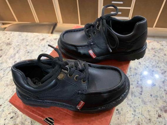 Zapatos Escolares Marcel Numero 28 Poco Uso