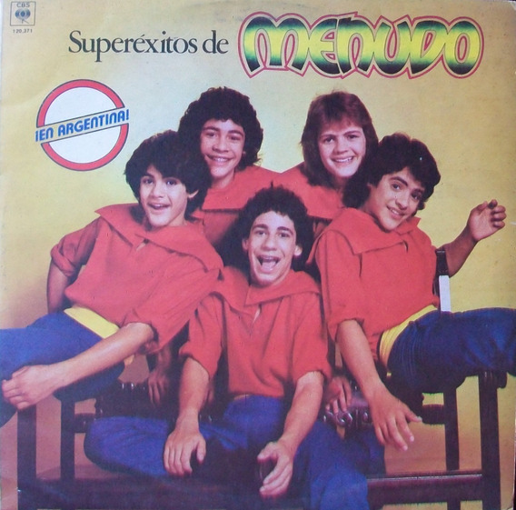 Menudo - Super Exitos Disco Vinilo Lp