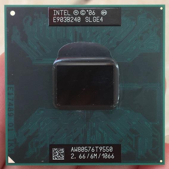 Processador Intel Core 2 Duo T9550 2.66/6m/1066 Pga 478