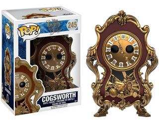 Muñeco Reloj Funko Pop Cogsworth Disney Bella Bestia Rdf1