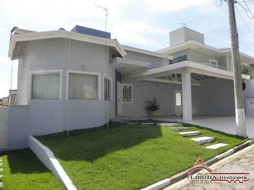 Imagem 1 de 15 de Linda Casa Condomínio Coleginho Estuda Permuta Jacareí Sp - 2029