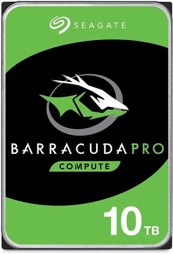 Seagate Barracuda Pro 10tb Disco Duro Hdd Sata 6 Gb/s 3.5 In