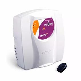 Central De Alarme Genno Inform Slim 1setor + Controle Remoto