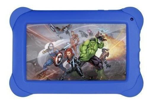 Tablet Vingadores Marvel Infantil Multilaser 8gb Quad Core