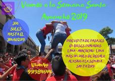 Pre Venta De Pasajes Por Semana Santa Ayacucho 2019