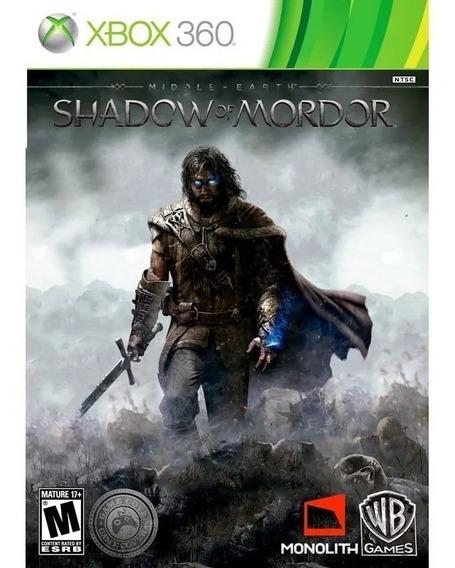 Terra Media Sombras De Mordor Xbox 360 Midia Fisica + Brinde