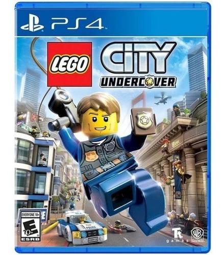 Lego City Undercover - Ps4 Fisico Nuevo Sellado