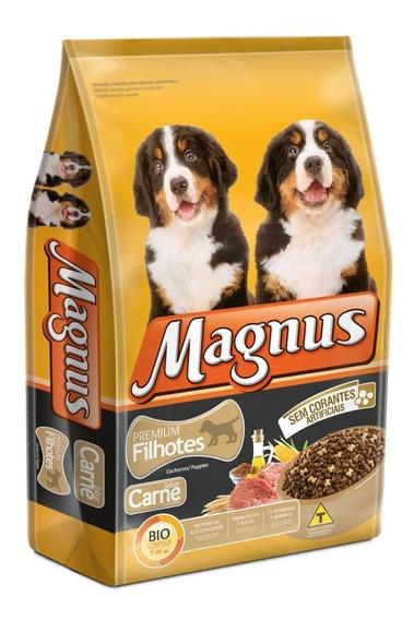 Ração Sem Corantes Magnus Premium Cães Filhotes 10,1 Kg