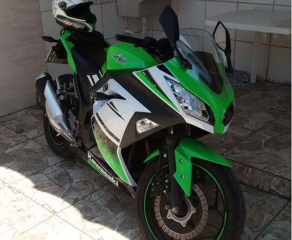 Kawasaki Ninja 300 R Edição Especial 30 Anos Nova Com Abs