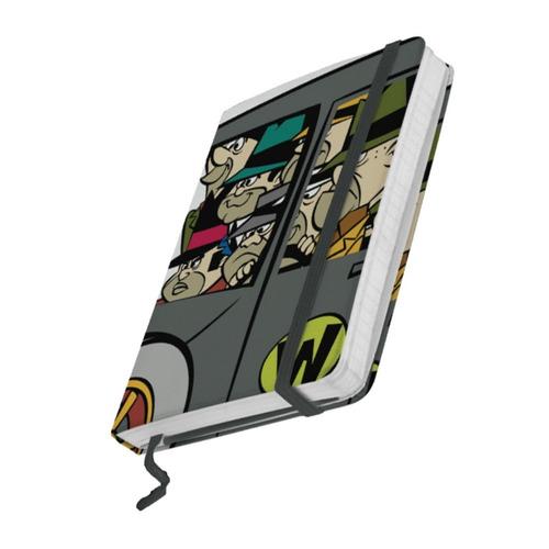 Caderneta Corrida Maluca Gangsters 9,5x14