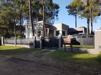Verano 2018 - Casa En Pinamar - Tridente - 3 Hab - 2 Baños