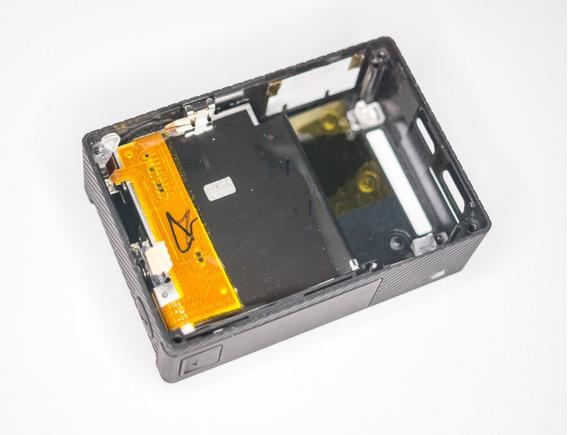 Moldura Gopro 4 Black + Flat + Botões + Slot - Com Trincado