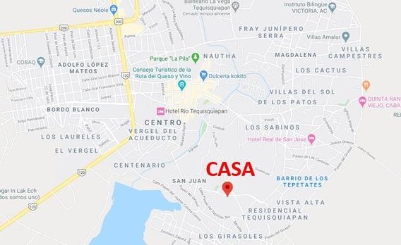Casa Tequisquiapan, San Juan, La Media Luna Sup. 439 Mts