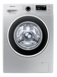 Lavarropas automático Samsung WW70J4463G plata 7kg 220V