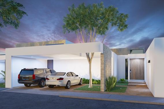 Casa Nueva De Una Planta En Venta, Mirova Modelo 3, Dzitya, Mérida Norte