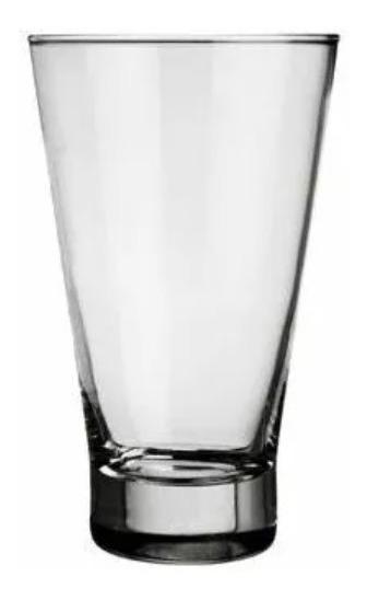 Vaso X12 Nadir Ilhabela 400c Conico Vidrio Trago Larg London