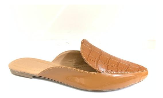 05 Pares Mule Bico Fino Sapato Confort Rasteira Atacado