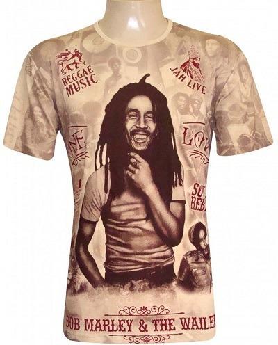 Camiseta Indiana Bob The Wailers Extra Grande