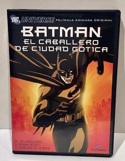Batman El Caballero De Ciudad Gotica Dvd Pelicula Animada