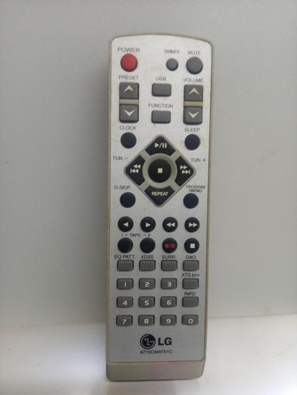 Controle Original Som LG Código: 6710cmat01c