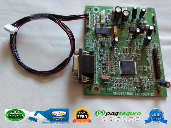 Placa Principal (video) Monitor Cce Lwi 135 Cod:1.10.72654.