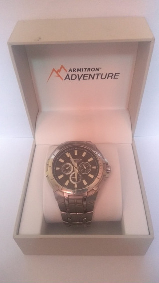 Reloj Armitron Acero Inoxidable Resistente Al Agua