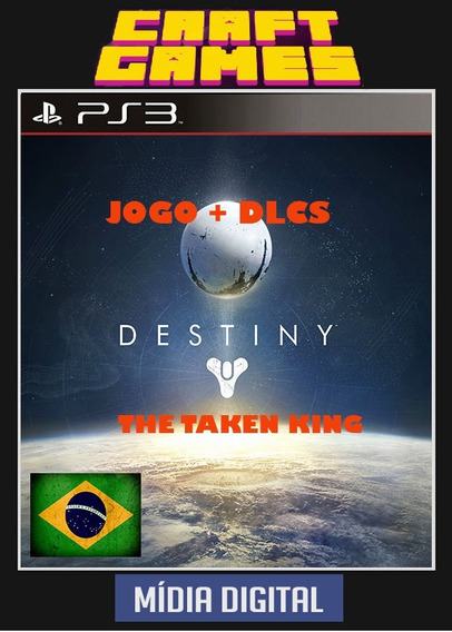 Destiny The Taken King Psn Ps3 Envio Imediato