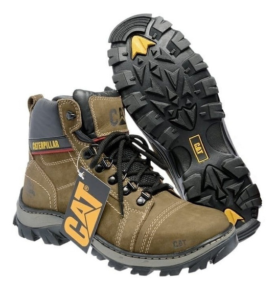 Coturno Caterpillar Adventure Masculino Original Bota Cat