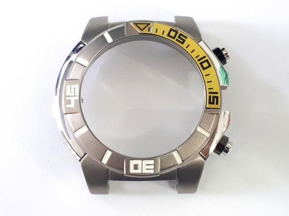 Caixa Decalque Relógio Orient Mbttc003 - Seminova, Original!
