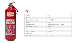 Extintor Abc Caminhão Van Carretas 2kg - Validade 2023
