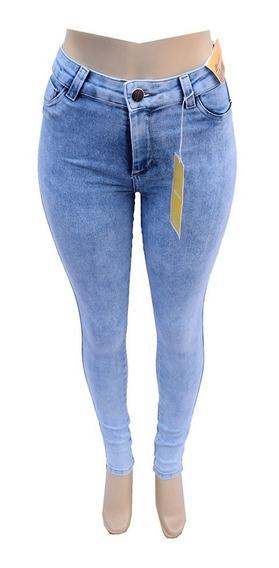 Calça Jeans Feminina Sawary Skinny Com Lycra - 259587