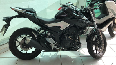 Yamaha Mt 03 321cc Abs 2017 Semi Nova Preta Posto 6