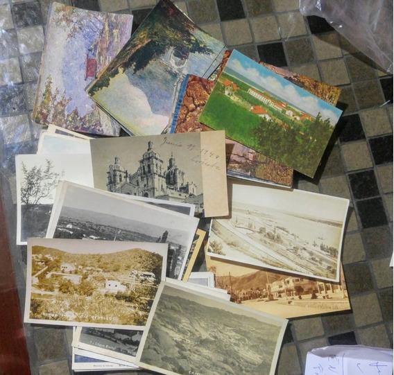 Postales Antiguas Lote De 100