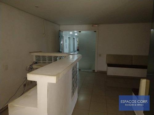 Conjunto Comercial Para Alugar, 145m²- Jardim Paulistano - São Paulo/sp - Cj1884