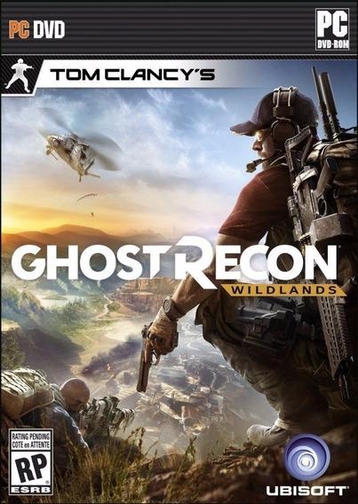 Tom Clancys Ghost Recon Wildlands Dvd Ou Blu-ray Offline Pc
