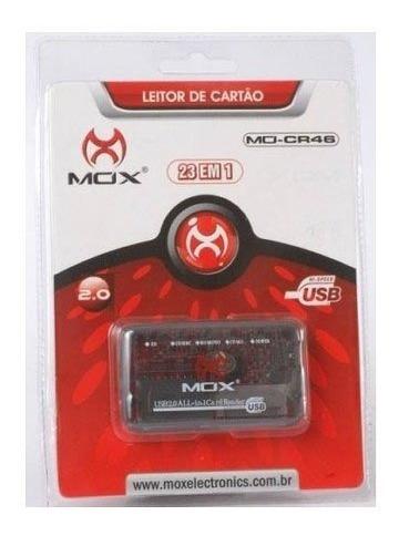 Leitor Adaptador De Cartão Compact Flash Mox Original