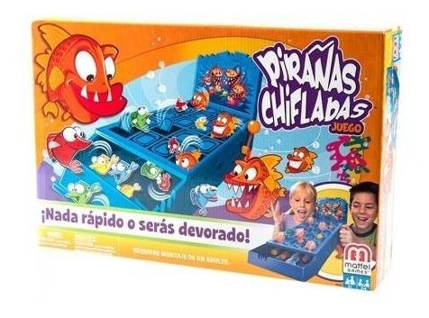 Juego Pirañas Chifladas