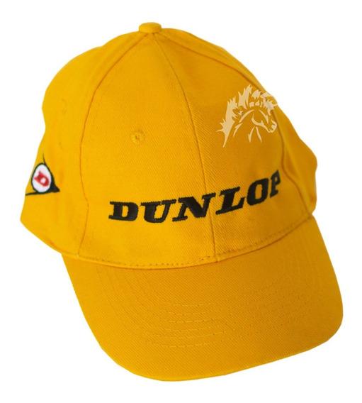Gorra Original Dunlop Amarilla Autos Berazategui Cavallino