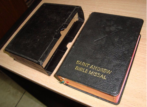 Saint Andrew Bible Missal / Missal Comiss St Andrew's Abbey
