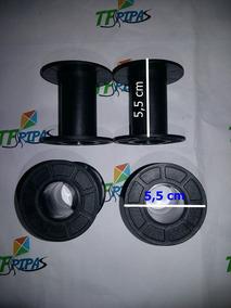 Carreteis Carretel Plastico Linha Pipa 500jds Pct C/100unid.