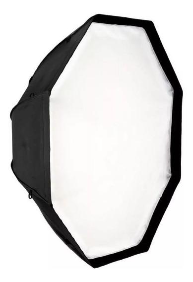 Octabox Tipo Sombrinha 120cm Para Tocha/flash/luz Contínua