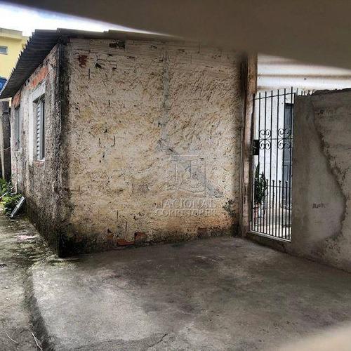 Imagem 1 de 23 de Terreno À Venda, 300 M² Por R$ 640.000,00 - Parque Novo Oratório - Santo André/sp - Te1144