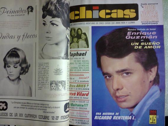 Fotonovela Chicas #1 Primerísimo Debut Verónica Castro 1968
