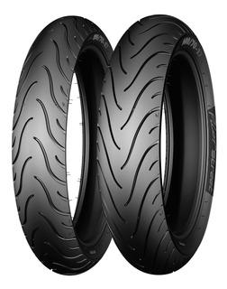 Juego Llantas Michelin Pilot Street 110/80 Y 80/90 17 Moto Z