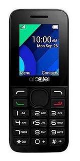 Alcatel 1054 Dual SIM 4 MB Negro/Blanco 4 MB RAM