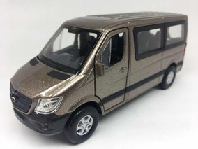 Miniatura Mercedes-benz Sprinter Traveliner Marrom